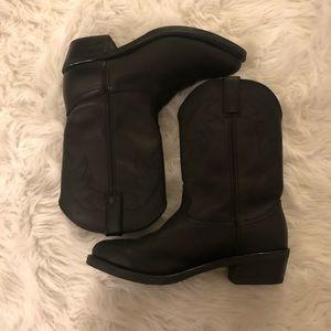 Men's black Durango boots